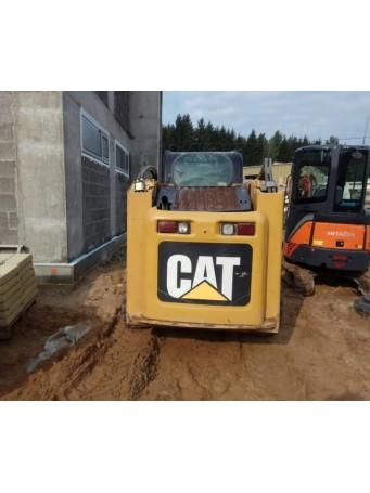 Мини-погрузчик CAT 246C