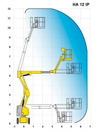 Коленчатый электро подъемник Haulotte HA12 IP