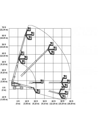 Телескопический дизельный подъемник JLG 660 SJ