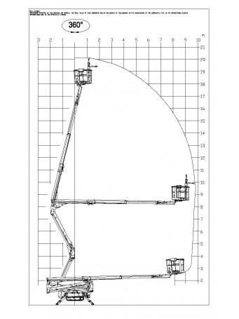 Коленчатый подъемник JLG X20J PLUS